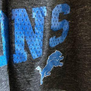 NFL Tops - Women's NFL team apparel Detroit Lions tank